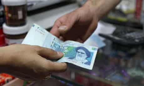 iran banknote