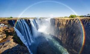 Rainbow, Victoria Falls, Zambia