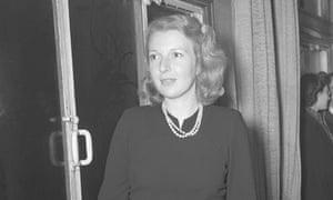 Martha Gellhorn in New York, 12 January 1940.