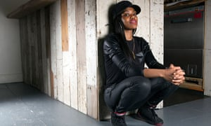 Lady Leshurr photographed in London last week for the Observer by Richard Saker.