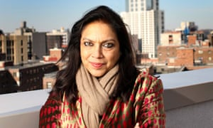 Film director Mira Nair in Manhattan