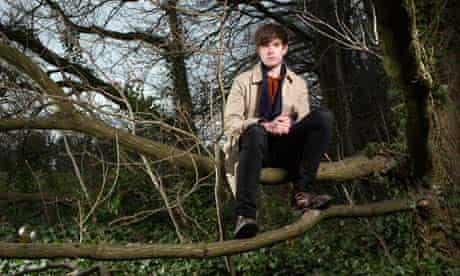 James Blake photographed in north London for the Observer by Richard Saker