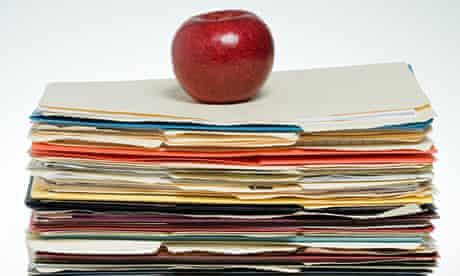 Apple on files