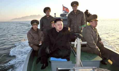 Kim Jong-un visits the Wolnae-do Defence Detachment