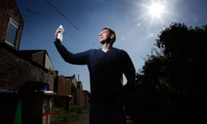 Robin Davies from Middleton, who used an energy smart meter as part of a British Gas trial.