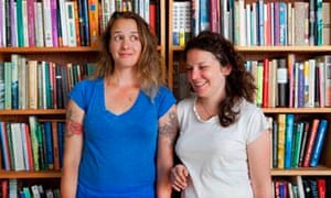 Emily Gould, left, and Ruth Curry of independent ebookshop EmilyBooks.