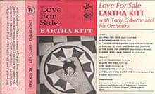 Eartha Kitt's Love for Sale