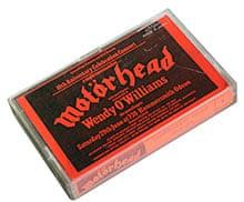 A Motörhead live bootleg tape.