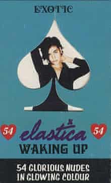 Elastica's Waking Up cassette single.