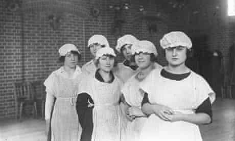 Servants in London, 1922.