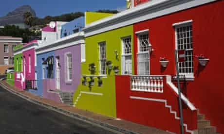 Bright coloured houses