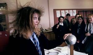 Hair-raising science lesson
