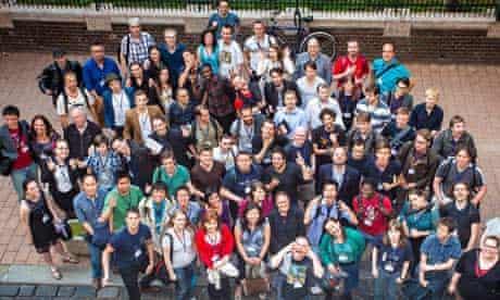 Polyglot conference group shot