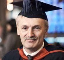 Masters student Nick Brown