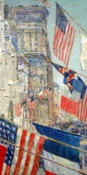 Allies Day, May 1917, by Frederick Childe Hassam