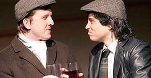 Tom Goodman-Hill and Kevin Bishop in Pete and Dud: Come Again, The Venue, London