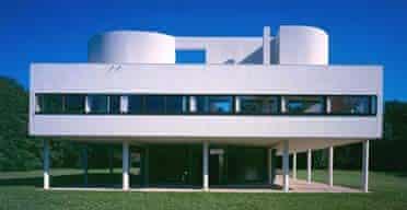 LeCorbusier's Villa Savoye in Poissy, France