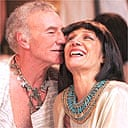 Patrick Stewart and Harriet Walter as Antony and Cleopatra, RSC, Stratford-upon-Avon