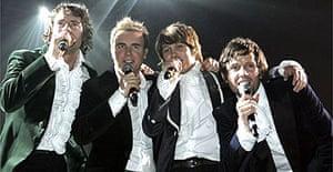 Take That, Metro Radio Arena, Newcastle