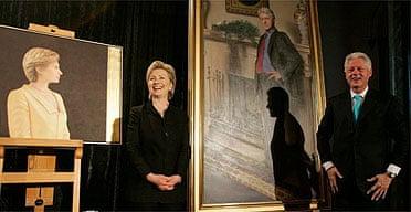 Clinton portraits