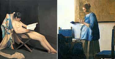 Roussel's Reading Girl and Vermeer's Woman Reading a Letter