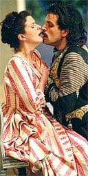 Anke Vondung and Luca Pisaroni in Cosi Fan Tutte, Glyndebourne, 2006