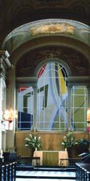 David Tremlett glass window