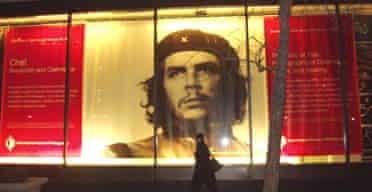 Poster for Che Guevara V&A exhibition