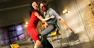 Juliette Lewis and Martin Henderson in Fool for Love, Apollo, London