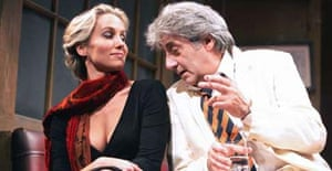 Nina Young and Tom Conti in Jeffrey Bernard Is Unwell