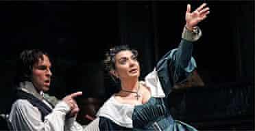Isabel Bayrakdarian (Susanna) and Kyle Ketelson (Figaro) in Le Nozze de Figaro