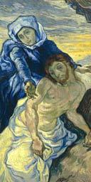 Van Gogh's Pieta (After Delacroix), 1889