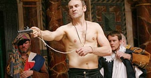 Cal MacAninch in Under the Black Flag, Shakespeare's Globe, London
