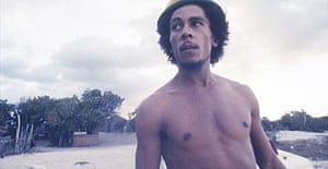 Bob Marley on Hellshire beach, 1973