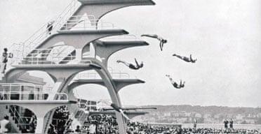 Weston-super-Mare lido 1937