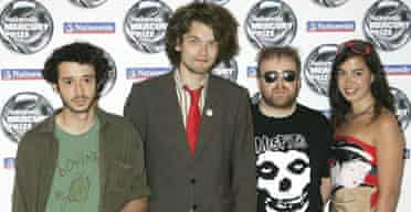 Guillemots, nominated for the 2006 Mercury prize