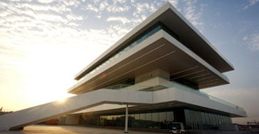 America's Cup Pavilion, Valencia