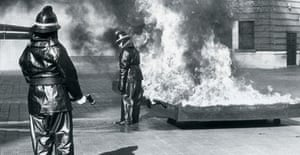 Photograph from the London Fire Brigade archive