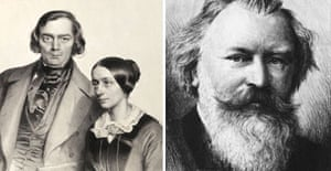 Robert and Clara Schumann and Johannes Brahms