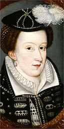 Portrait of Mary Queen of Scots, previously thought to be a fake, at the National Portrait Gallery, August 2006