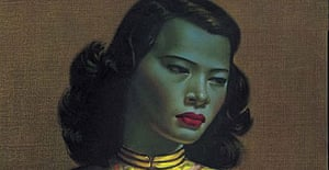 Detail from The Chinese Girl by Vladimir Tretchikoff