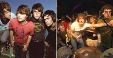 Automatic and Pigeon Detectives plus fans