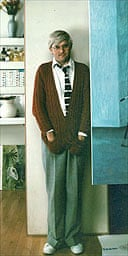 David Hockney in his studio in 1978