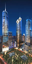Design for the Freedom Tower at Ground Zero