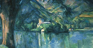 Le Lac d'Annecy by Cezanne