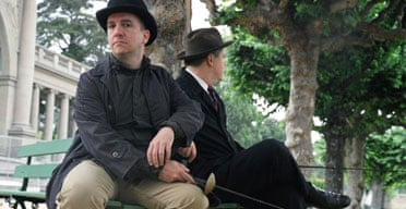 Stephin Merritt and Lemony Snicket
