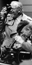 Sven Nykvist and Ingmar Bergman
