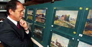 Adolf Hitler paintings for auction