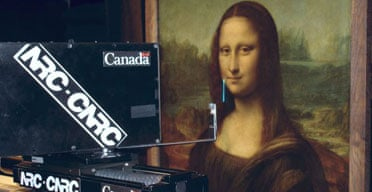 Scanning the Mona Lisa