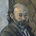 Self-portrait by Cezanne, 1880-81
